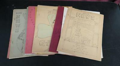 Vintage Lot of 16 WWII Home News by Fogelsville PA Fire Co. 1944-1945
