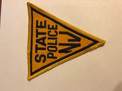 New Jersey State Police Sheriff Patch VINTAGE