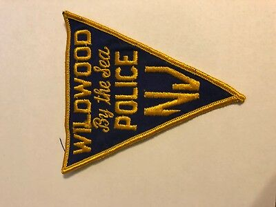 Wildwood By The Sea New Jersey Police Sheriff Patch VINTAGE