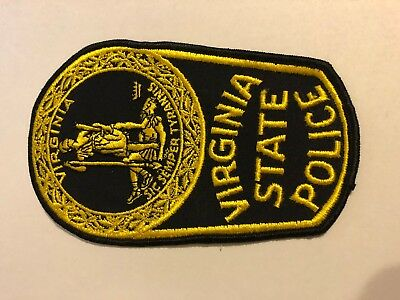 Virginia State Police Sheriff Patch VINTAGE