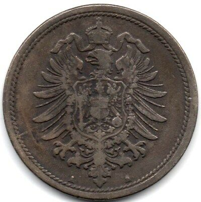 1875A German Empire - 10 Pfennig - Berlin Mint