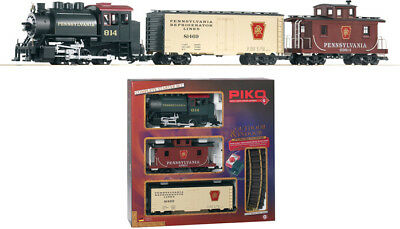PRICED TO CLEAR! Piko - 37103 PRR Freight Starter Set - G Scale