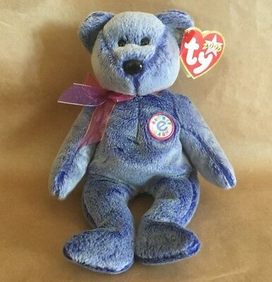 5cae03b4bf4 TY BEANIE BABY ~ Periwinkle the blue