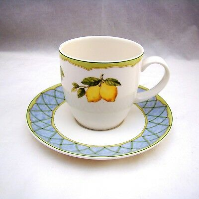 Mikasa Optima FRUIT RAPTURE Y4001 Cup & Saucer Set(s) EXCELLENT