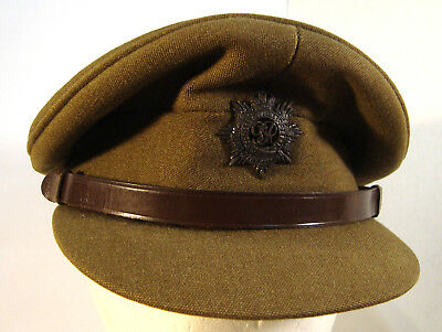 British WW2 Officers Service Dress Cap great condition!  Size 7&1/4