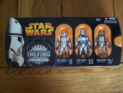STAR WARS EVOLUTIONS Legacy Collection Clone Trooper SANDTROOPER army build lot