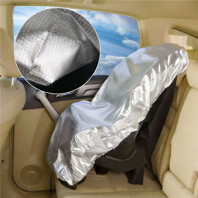 Car Safety Seat Cover Baby Kids Sun Shade UV Dust Protector Insulation Heat Auto