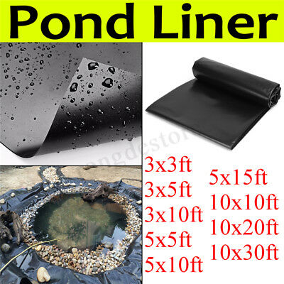 HDPE Composite Geomembrane Pool Landscaping Fish Pool Pond Liner Membrane UK