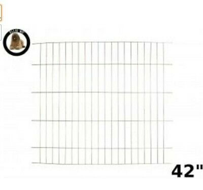 Dog Crate Cage Extra Large Ellie Bo Divider 42-Inch Gold Run Pet Metal Heavy Dut