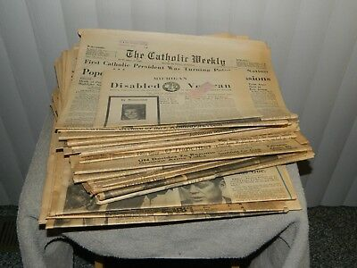 1963 JFK Shot. Newspaper lot..27 Newspapers from all over Michigan.