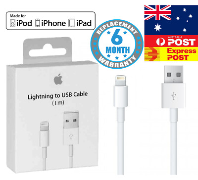 USB Lightning Data Charger Cable Compatible For iPhone XS Max X 8 7 Plus