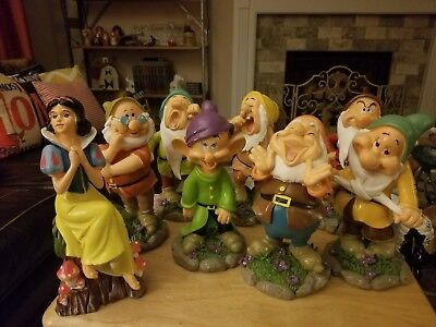 Disney's Snow White and Seven Dwarfs Resin Figurines