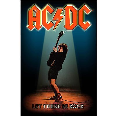 AC/DC Let there be rock Textile Poster Flag
