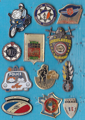 LOT DE 12 PIN'S POLICE DIVERS +++++++++++ref42+++++++++++++++++++++++++++++++