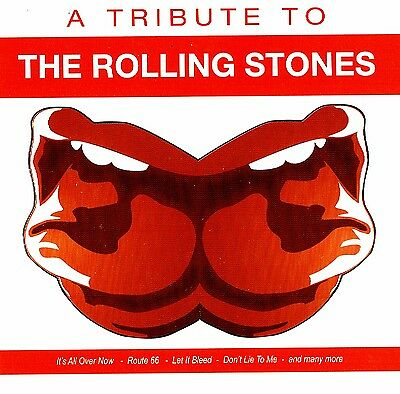 "A Tribute To "" The Rolling Stones "" 15 Tracce CD Fox Music Nuovo in Scatola"