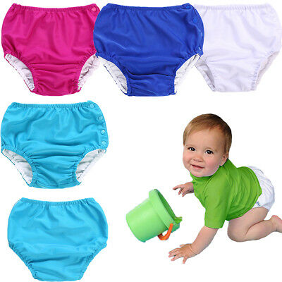 AU Reusable Swim Nappy Baby Diaper Pants Nappies Swimmers Newborn to Toddlers
