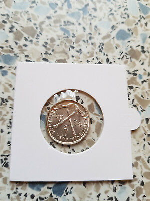South Rhodesia 6 Pence 1934 Uncirculated