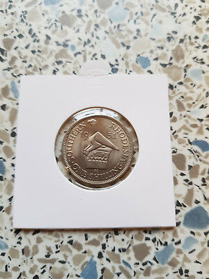 South Rhodesia One Shilling 1951 Brilliant Uncirculated