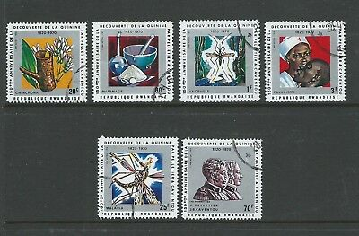 1970 The 150th Anniversary of Discovery of Quinine Fine Used set 6