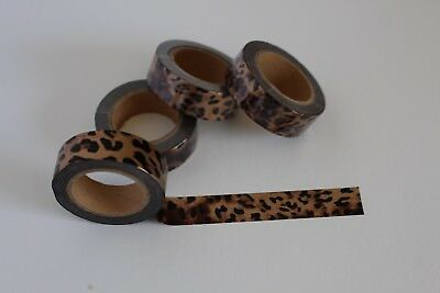 Animal print washi tape, leopard print, Cute Washi Tape,Planner accessories