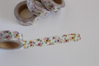 Pansy print washi tape, Floral washi tape, Cute Washi Tape,Planner accessories