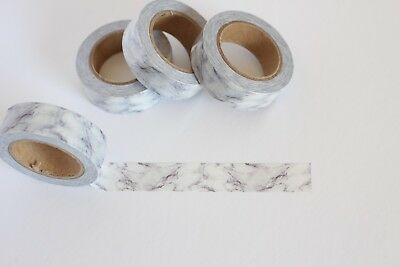 Marble print washi tape, Stone washi tape, Cute Washi Tape, Planner accessories