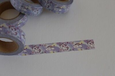 Rainbow washi tape, Rainbow Pony washi tape, Cute Washi Tape,Planner accessories