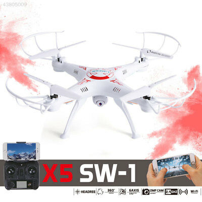 X5SW-1 4 Axis Quadcopter Drone Time WIFI Camera Headless 2MP FPV Helicopter