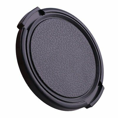 55mm Plastic Snap on Front Lens Cap Cover for Nikon Canon Sony Fujifilm