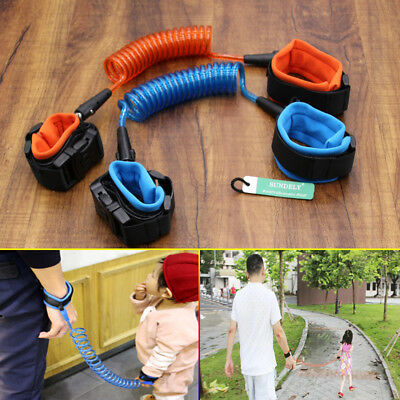 Toddler Safety Harness Belt Child Kids Anti-lost Strap Wrist Band Leash Walking
