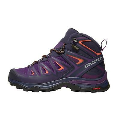 Neu Salomon X ULTRA 3 Mid GTX Damen Trainingsschuhe Purple