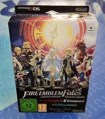 Fire Emblem Fates Special Limited Edition EMPTY BOX - SOLO SCATOLA VUOTA 3DS