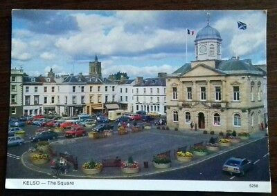 The Square -  Kelso Scotland Colour Postcards 1970s