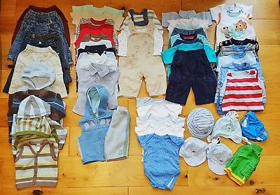 Baby Boys Clothes BUNDLE 3-6 Months inc' NEXT, Over 40 Items