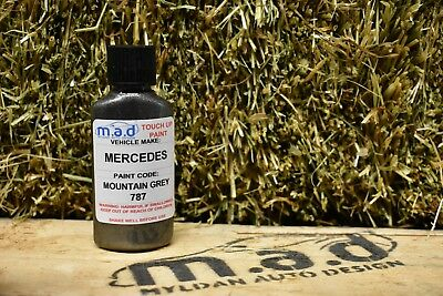 M.a.d Mercedes Mountain Grey 787 Paint Touch Up Kit 30Ml A C E Class Amg Gle