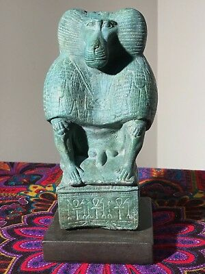 Thoth as a Baboon * Egyptian Statue * Limited Production Series * Museum Quality