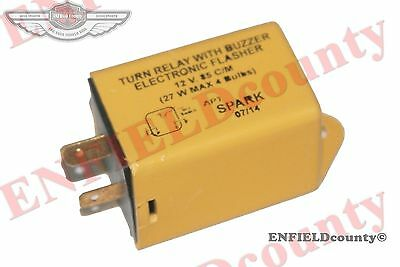 Massey Ferguson Turn Relay With Buzzer Electronic Flasher Unit 12V 27W @Uk