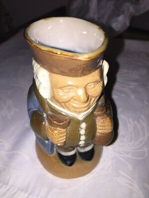 Royal Doulton Lambeth Toby Jug Harry Simeon RARE