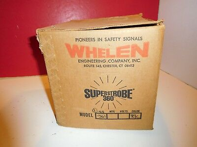Emergency Strobe Light-Whelen Superstrobe 360