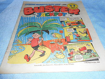 Vintage CLASSIC UK COMIC - BUSTER - 10th April 1982