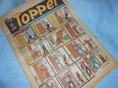 Vintage CLASSIC UK COMIC - TOPPER - 19th July 1969