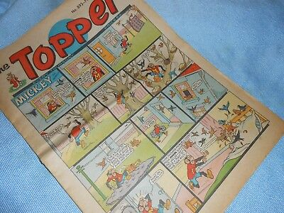Vintage CLASSIC UK COMIC - TOPPER - 14th March 1970