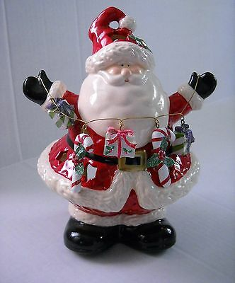 Santa Claus Candle Holder Burner Christmas Holiday Figurine NEW
