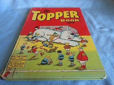 Vintage UK Annual - THE TOPPER BOOK 1975