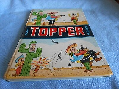 Vintage UK Annual - THE TOPPER BOOK 1965