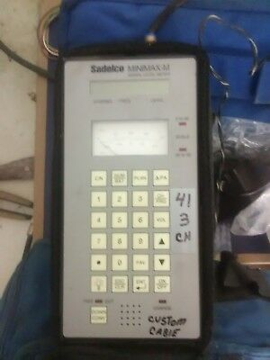 Sadelco Minimax Signal Level Meter Model: Minimax 800 Serial #lt-4508