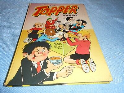 Vintage UK Annual - THE TOPPER BOOK 1980