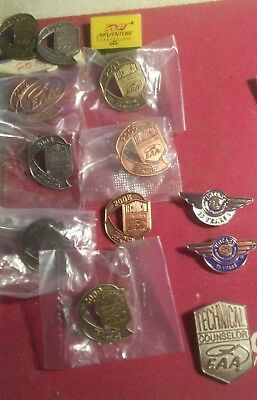 LOT E.A.A. Experimental Aircraft Association Metal Pins From 2000 thru 2009 FORD