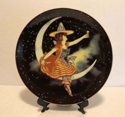 """Miller High Life Beer """"Girl in the Moon"""" Collector Plate #290 of 9950"""