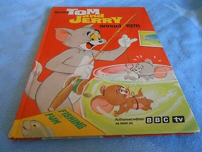 Vintage UK Annual - TOM & JERRY Annual - 1976
